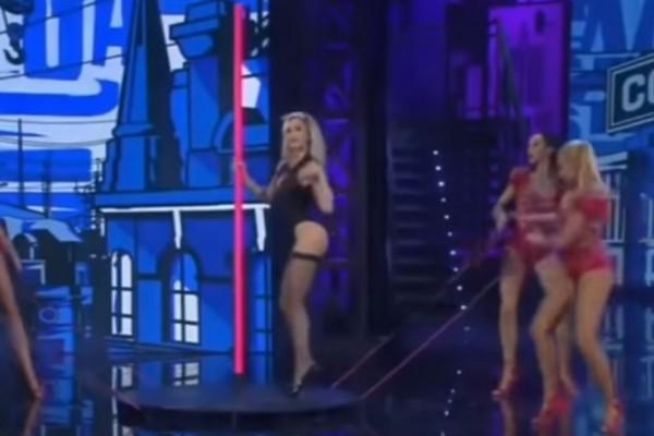 Ο αισθησιακός χορός σε στύλο της Ρίας Αντωνίου που έχει αφήσει ιστορία! – Sex